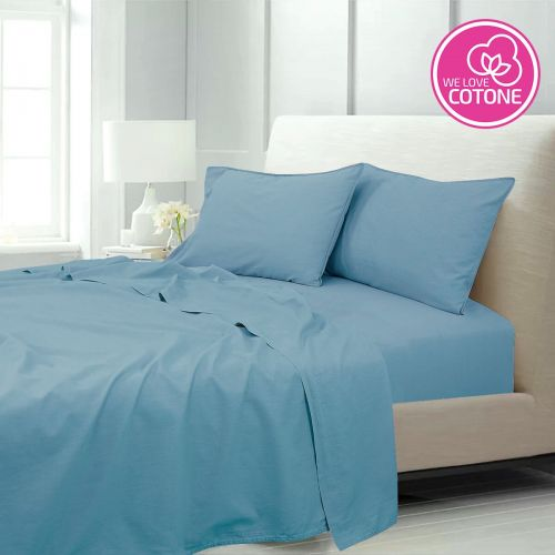 Stone washed completo letto